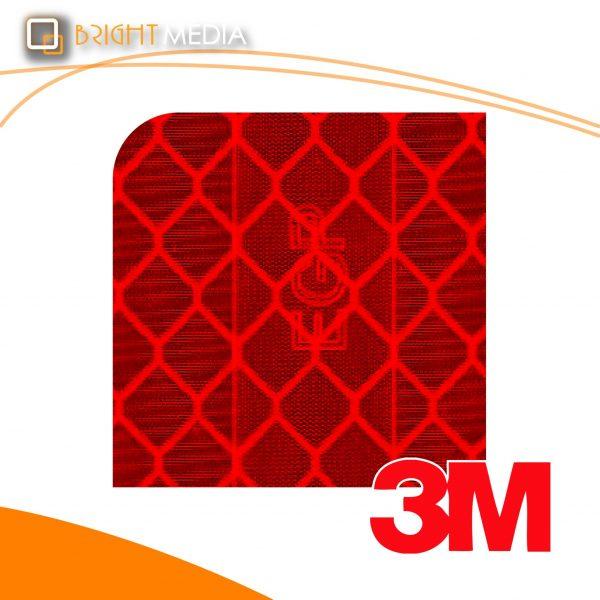 สติ๊กเกอร์สะท้อนแสง เอนจิเนียพริสเมติกเกรด - สีแดง