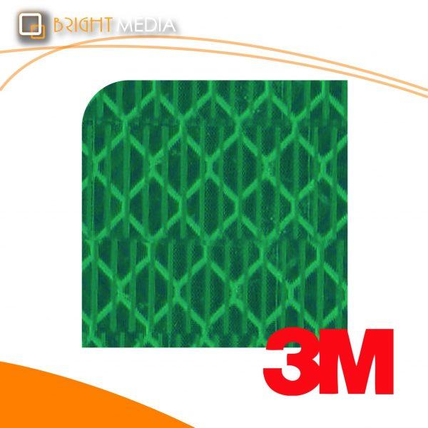 สติ๊กเกอร์สะท้อนแสง ไฮอินเทนซิตี้เกรด - สีเขียว