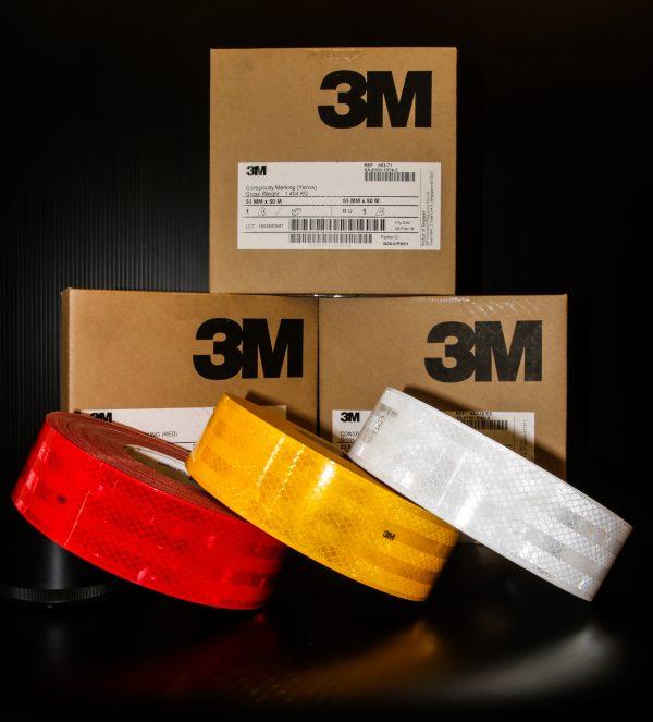 3M สติ๊กเกอร์สะท้อนแสง ไดมอนด์เกรด สำหรับยานพาหนะ
