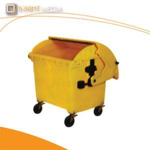 ถังขยะพลาสติก 1100 ลิตร