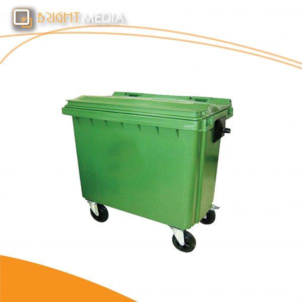 ถังขยะพลาสติก 660 ลิตร